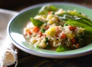 risotto primavera alle verdure