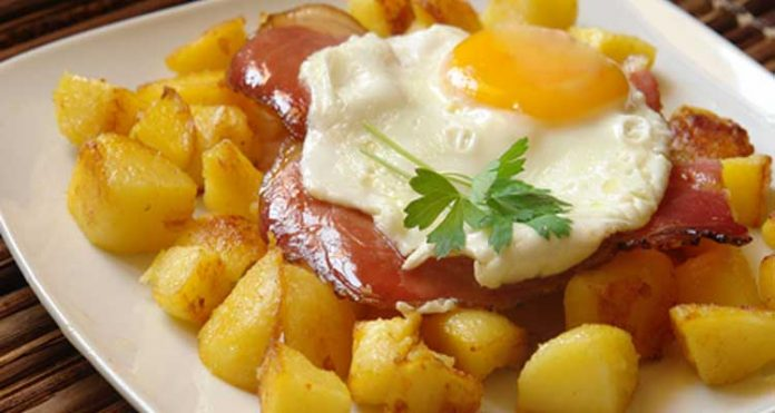 uova spekc e patate