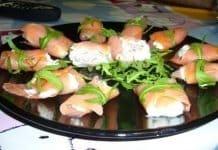 cornetti salmone e insalata russa