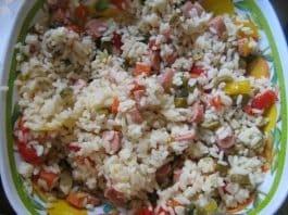 insalata di riso saporita