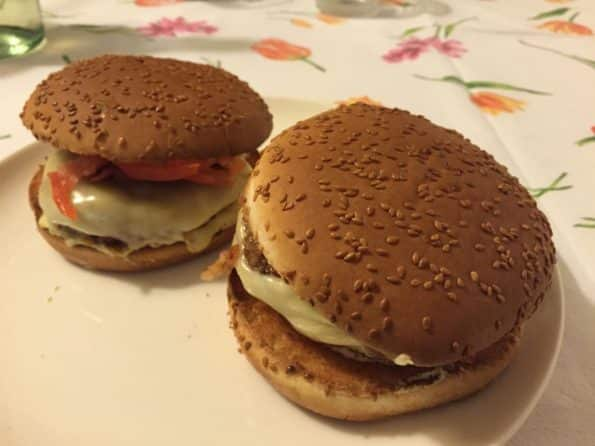 Hamburger Benny burger