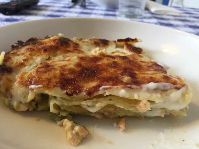 Lasagne salmone e asparagi