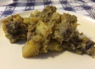 spezzatino carciofi e patate