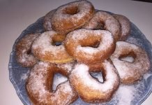 Donuts con macchina del pane