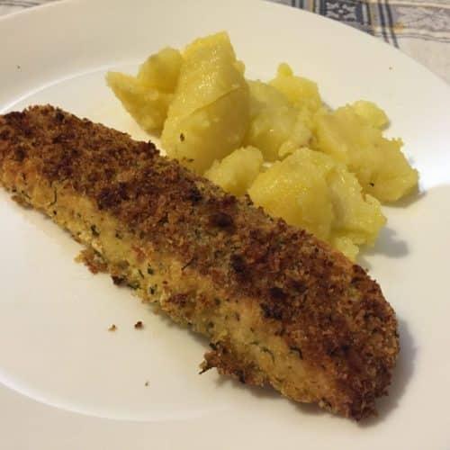 Salmone croccante velocissimo