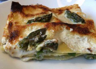 Lasagne asparagi e ricotta