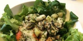 Insalata di pesce e patate