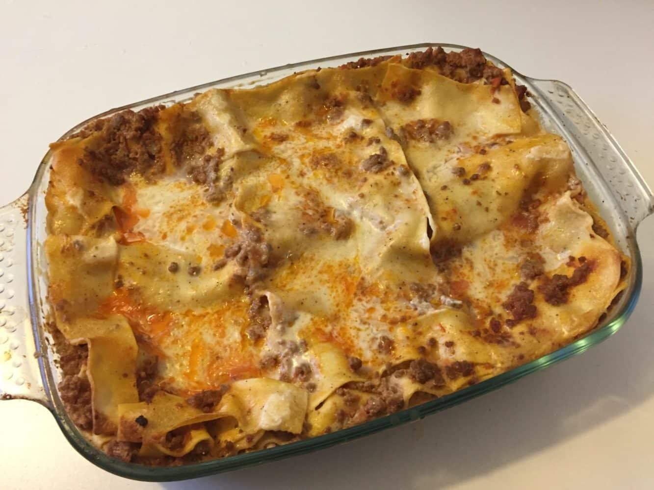 Ricetta Lasagne Fatte In Casa.Ricetta Lasagne Alla Bolognese Cucina Con Benedetta