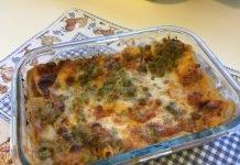 Lasagne ragù e piselli