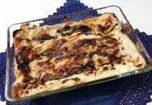 Lasagne radicchio e capesante