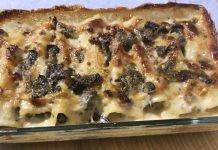 Cannelloni salsiccia e funghi