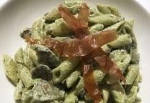 Penne panna funghi e Prosciutto di Modena DOP